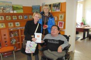 Návšteva priateľov z Moravy v našej Galérii Abilympiáda