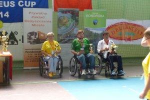 Medzinárodný integračný boccia turnaj Prometeus Cup 2014 (Poľsko)