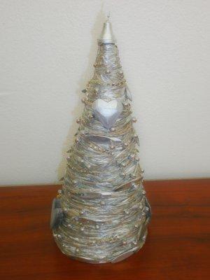 Vianočný stromček strieborný
