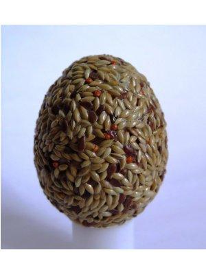 Kraslice - trávové semienka