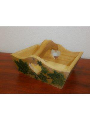 Drevený košík - malý