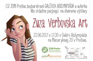 """Výstava """"Zuza Verbovska Art"""""""