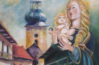 Záznamy krajiny - Vernisáž maliarky Margity Rešovskej