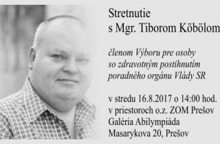 Stretnutie s Tiborom Köbölom