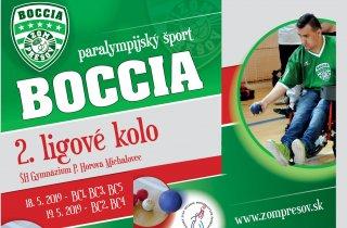Druhé slovenské boccia ligové kolo Michalovciach