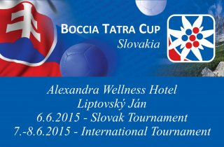 Boccia Tatra Cup in Slovakia