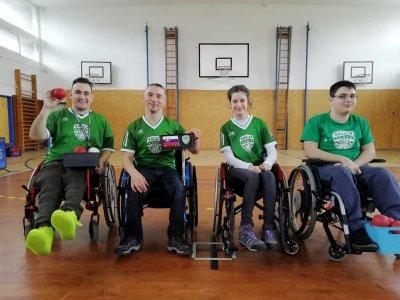 Boccia 1. ligové kolá 2019 Bratislava