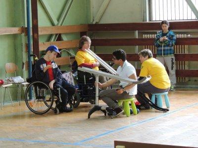 Boccia III. ligové kolo BC3 Prešov 2014