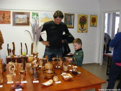 Výstava - Láska k drevu