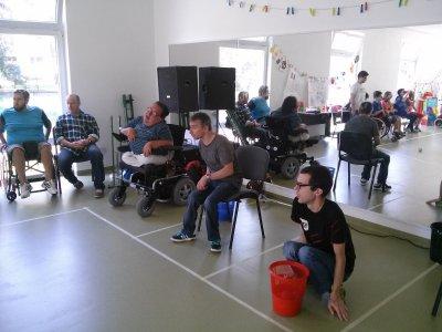 Priateľský Boccia turnaj v Barličke...