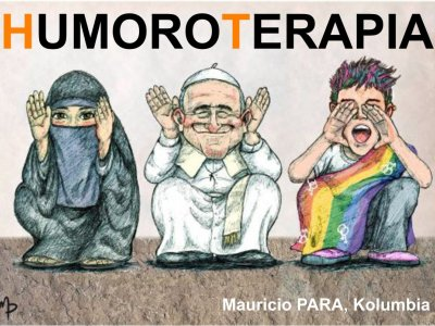 Humoroterapia 2017 - vernisáž kresleného humoru