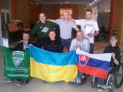 Prezentácia boccie na Zakarpatskej Ukrajine