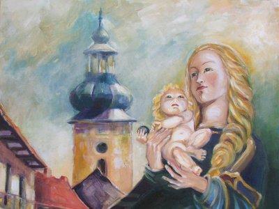 Ukážky z tvorby maliarky Margity Rešovskej