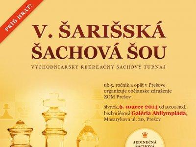 V. Šarišská šachová šou