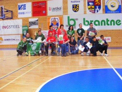 Turnaj tímov v integrovanej boccii Rožňava 2014
