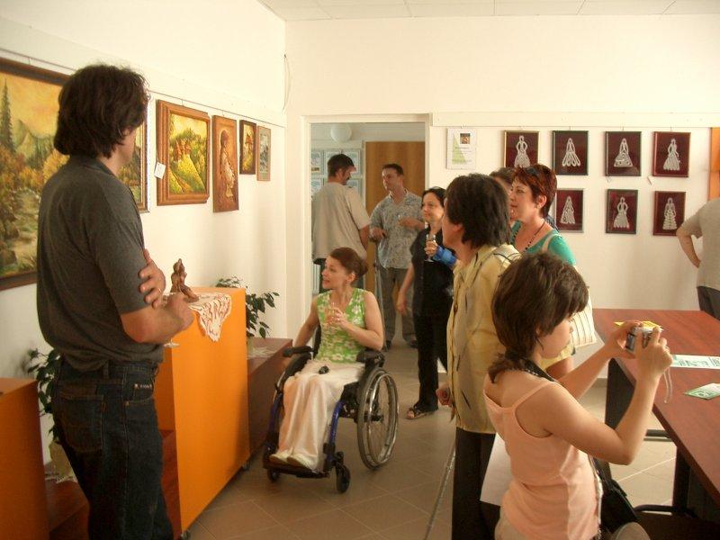 O galérii
