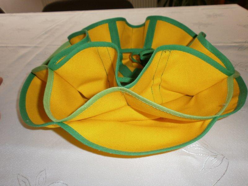 Košíček žltozelený